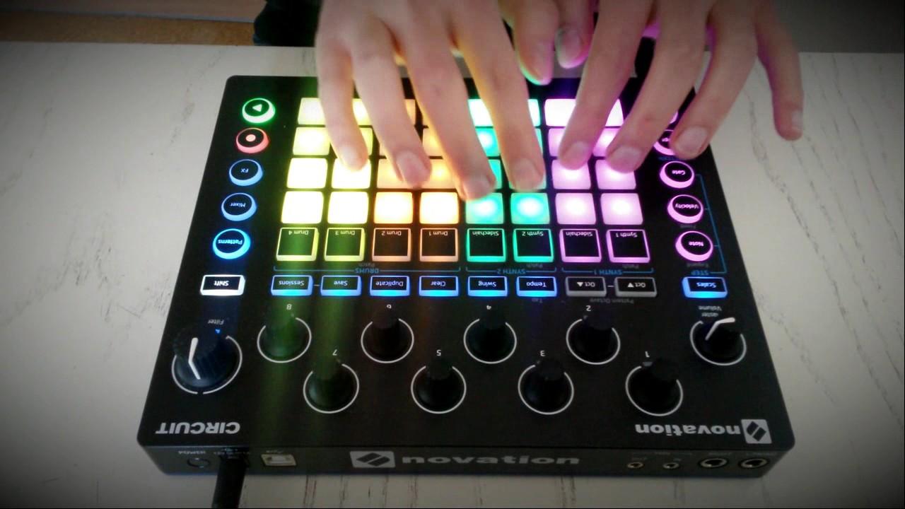 Novation Circuit Jam #1 - Chill progressive