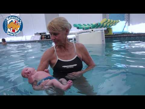 Baby swimming underwater 3 months doovi 3 month old baby swimming pool