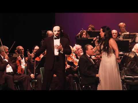 MARCEL AND MARCELA RASA SING PHANTOM OF THE OPERA
