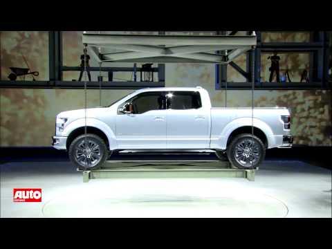 2014 Ford F-150: Atlas Concept auf der Detroit Auto Show 2013 [HD]
