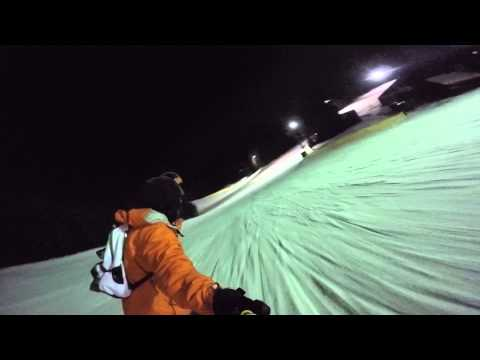 Snowboard Go Pro Keystone (Colorado) Night Ride