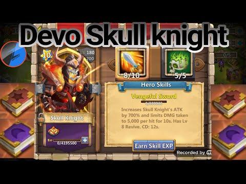 Castle Clash OP Devo Skull Knight Corrode 5/5