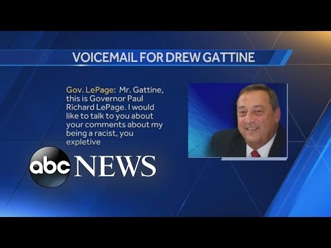 Maine Gov. Paul LePage Leaves Expletive-Filled Voicemail