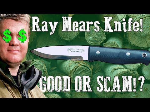 Ray Mears Bushcraft Knife | GOOD Or SCAM!? $450+
