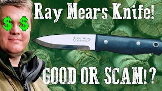 Ray Mears Bushcraft Knife   GOOD or SCAM!? $450+
