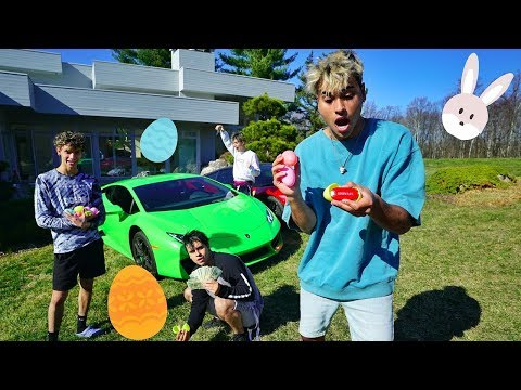MILLION DOLLAR EASTER EGG HUNT!