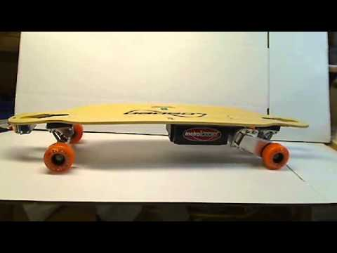 Metroboard Electric Skateboard with Loaded Dervish Deck and Paris 180 Trucks