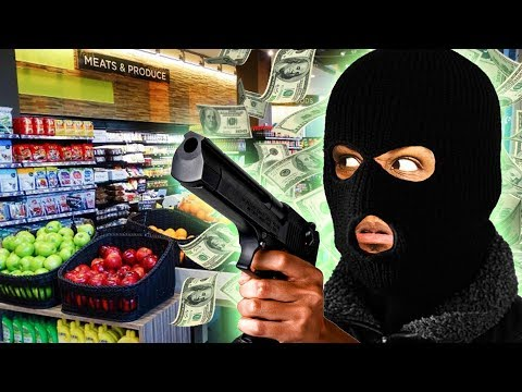 ROBBING A GROCERY STORE!! | I'll Take You To Tomato Town