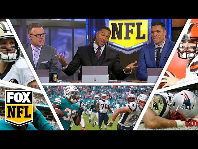 FOX NFL crew break down Week 14 Saints, Dolphins & Browns | FOX NFL
