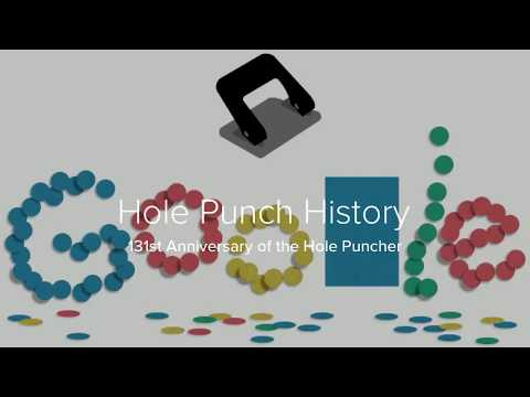 Hole Punch History - Google Doodle | Hole Punch Facts and What You Need to Know ?