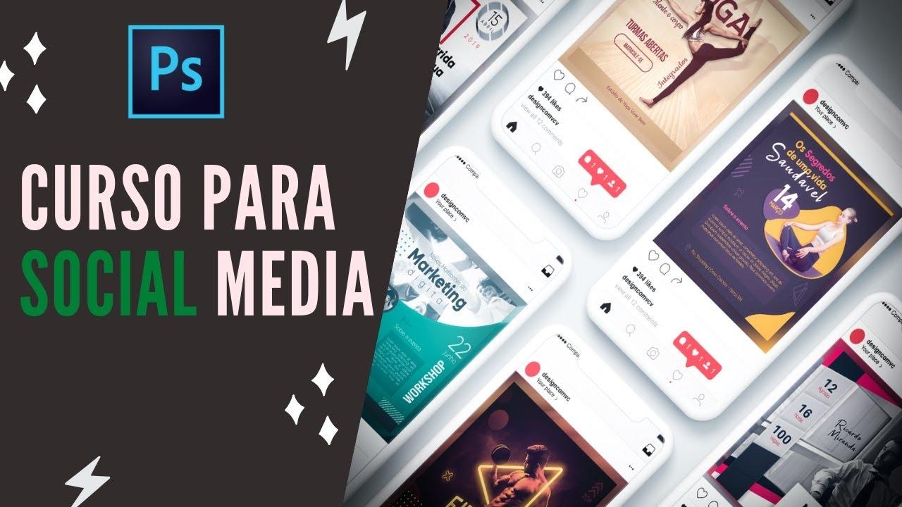Curso De Photoshop Online Para Social Media Youtube
