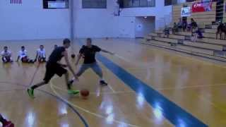 """The Professor (THE AMAZING SPIDERMAN) of """"Ball Up Street Ball"""" plays 5 Teens #mtagvideo"""