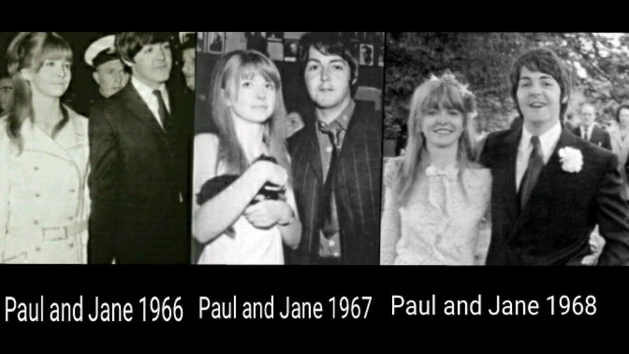 Paul McCartney And Jane Asher 1966 19671968