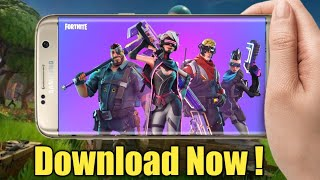 Fortnite android invite event ! Download now! Hindi