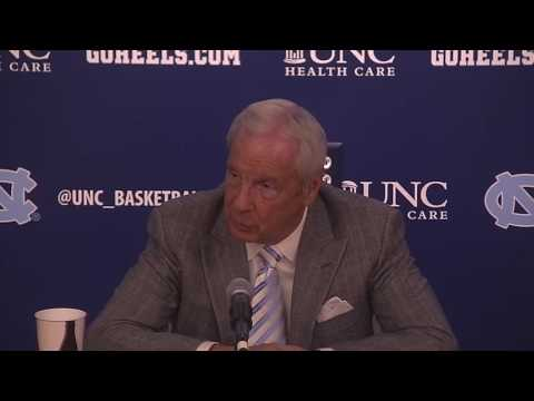 UNC Men's Basketball: Roy Williams Post Tennessee