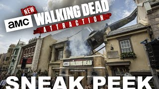 The Walking Dead Attraction Sneak Peek