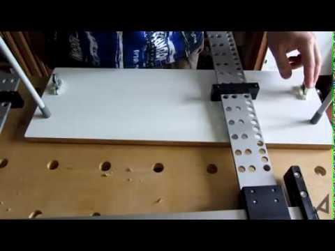Сборка мебели (мебельный шаблон кондуктор установка фасадов)