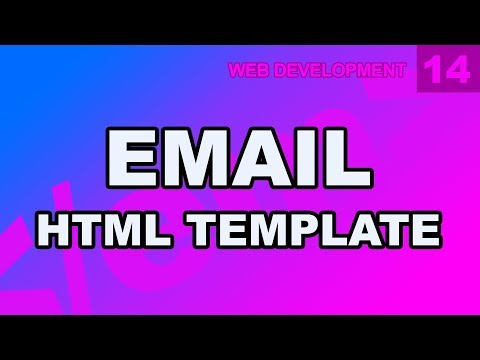 Web Development: 14 - Email HTML CSS Template