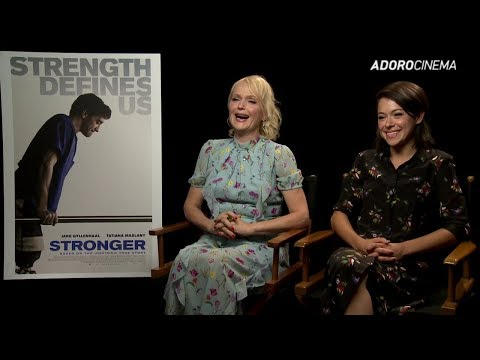 [LEG] Tatiana Maslany e Miranda Richardson falam sobre 'Stronger' | TIFF 2017