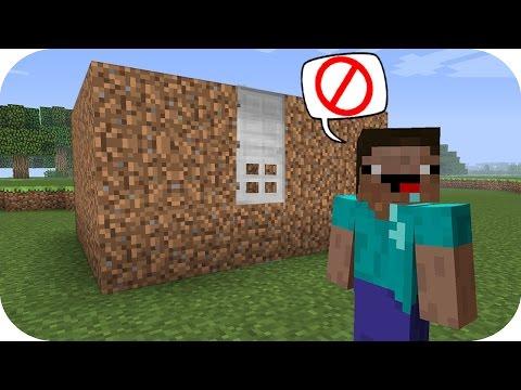 NOOB VS CASA INVERTIDA 100% SEGURIDAD MINECRAFT TROLL + ROLEPLAY - Видео из Майнкрафт (Minecraft)