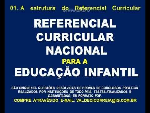 Referencial curricular nacional para educação infantil