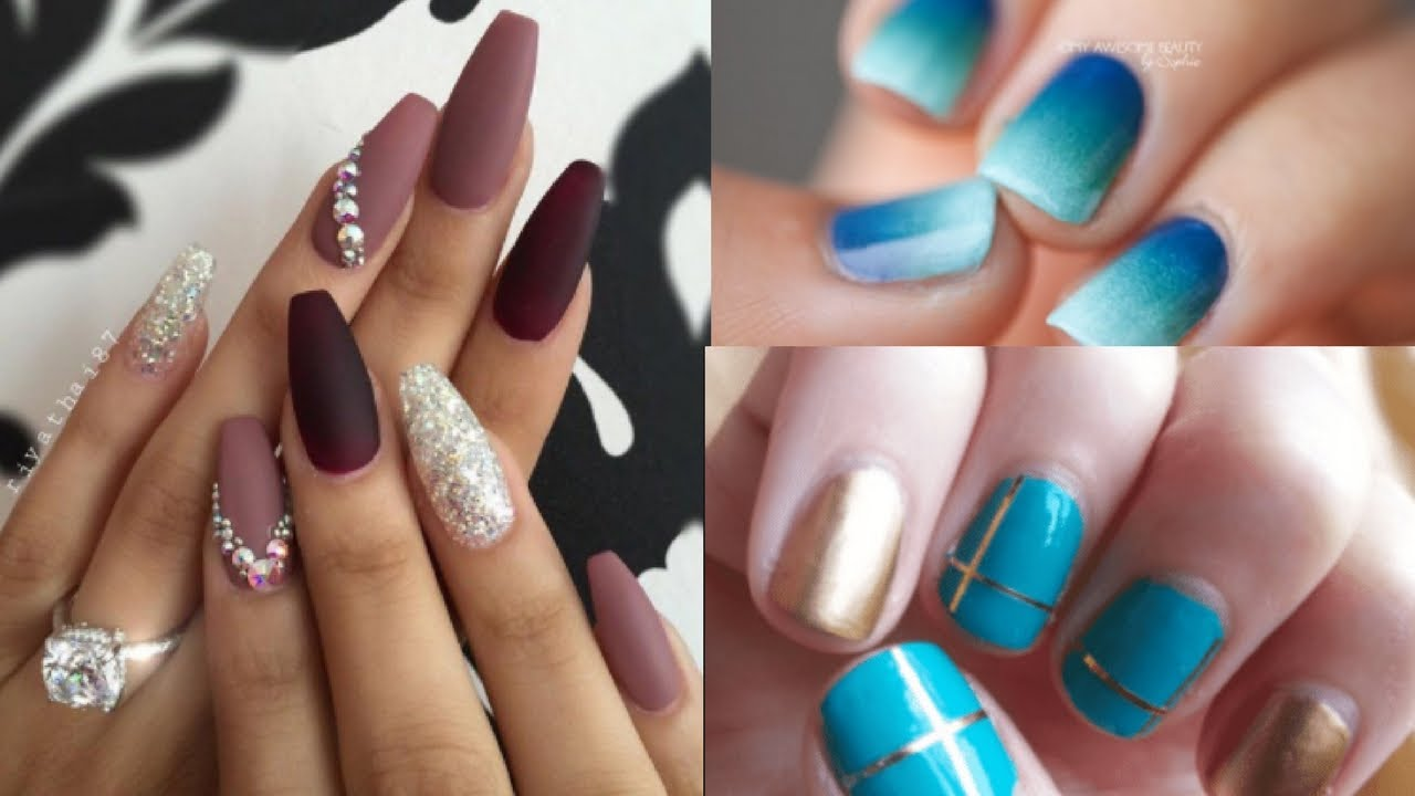 Nail Art The Best Nail Art Designs Compilation 2017 Easy Nails Tutorial Youtube