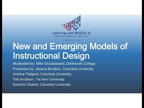 New and Emerging Models of Instructional Design