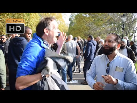 P1 - Tale of Truth! Abbas vs Atheist | Speakers Corner | Hyde park