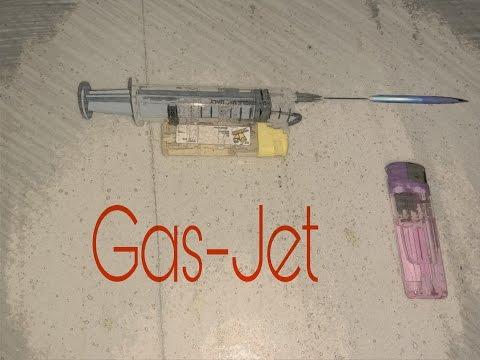 How to make Mini Gas-Jet.
