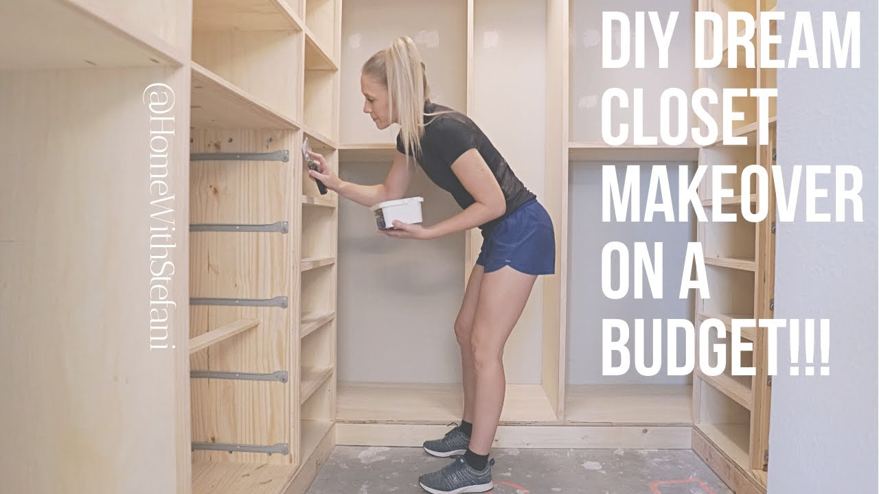Download DIY Dream Closet Makeover on a Budget!!! [Part 1] | Home With Stefani