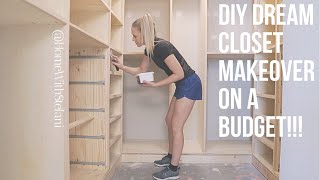 DIY Dream Closet Makeover on a Budget!!! [Part 1] | Home With Stefani
