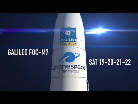 Arianespace Vol VA240 / Galileo FOC-M7 / SAT 19-20-21-22