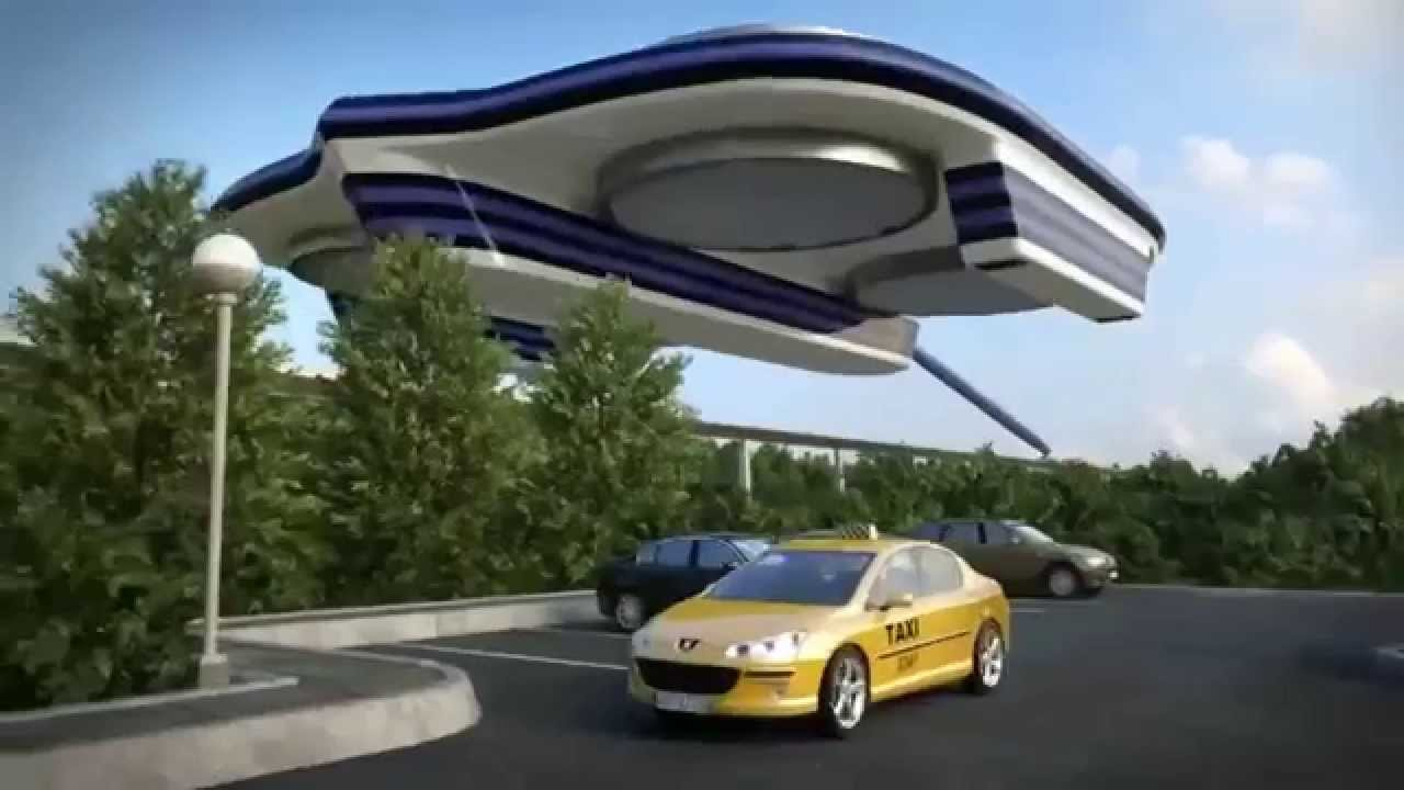 Giant Drone - The next generation of transportation
