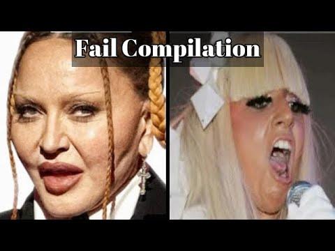 Madonna vs. Lady Gaga - Fail Compilation