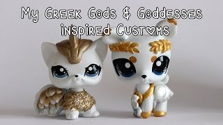 My Greek Gods & Goddesses inspired customs!