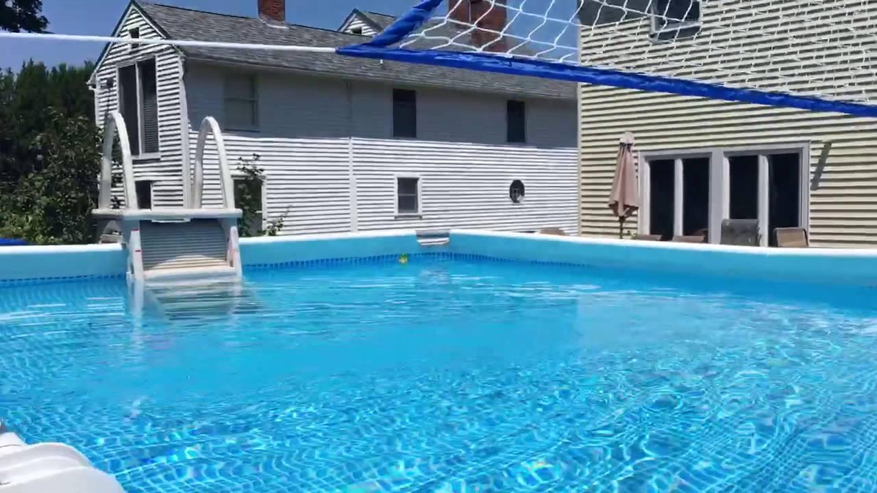 Pool Intex Ultra Frame Pool 12x24 52 Quot Deep Youtube