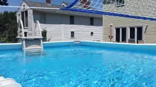 "Pool - Intex Ultra frame pool 12x24 (52""deep)"