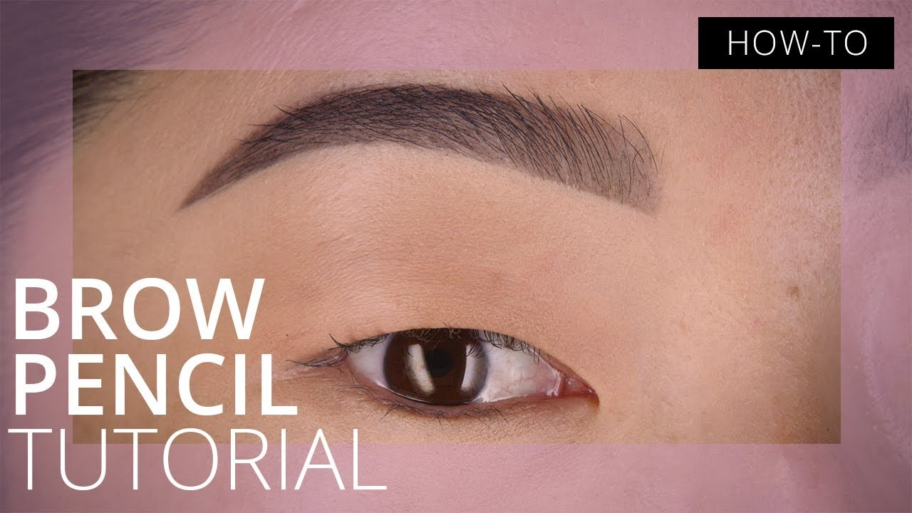 Brow Pencil Tutorial for Beginners  Feelunique