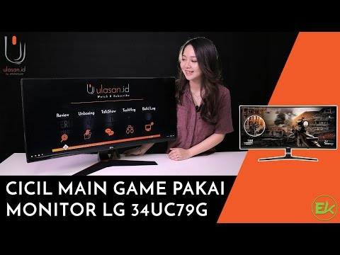 Monitor LG 34UC79G - Gaming Monitor #Ulasan Eps. 157