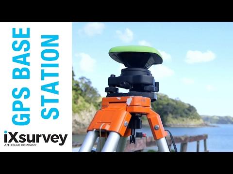 Using a GPS Base Station // IXBLUE // Marine Survey Specialists