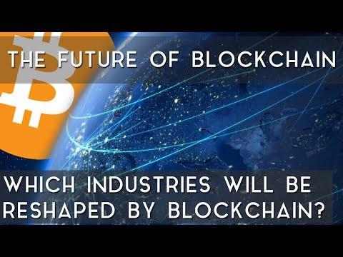 My Top Three Industries on Blockchain