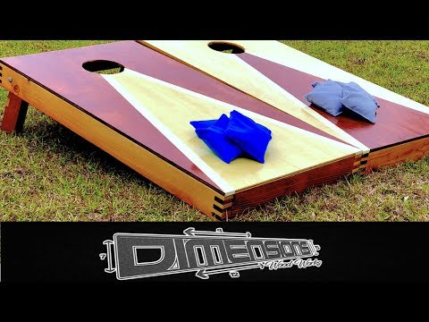 How To Make a Set of Cornhole Boards (Unique)
