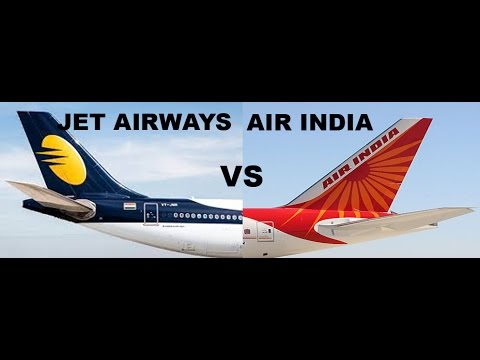 JET AIRWAYS VS AIR INDIA.FLEET COMPARISION