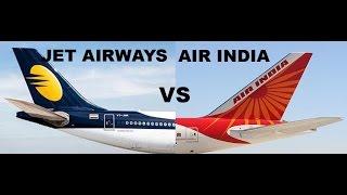 Top 10 Airlines - JET AIRWAYS VS AIR INDIA.FLEET COMPARISION