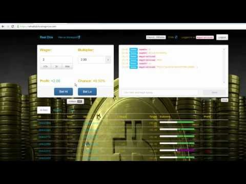Bitcoin Gambling Dice Casino LIVE | Double Your Bitcoin | FREE Bitcoins And Satoshi Every 30 Seconds