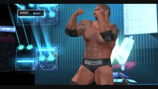 WWE Batista Unfitting Entrance SvR 2011