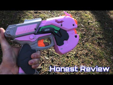 Honest Review: Nerf Rival D.Va Pistol From Overwatch thumbnail