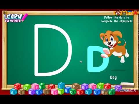 Learn Alphabets - Letter F - video dailymotion