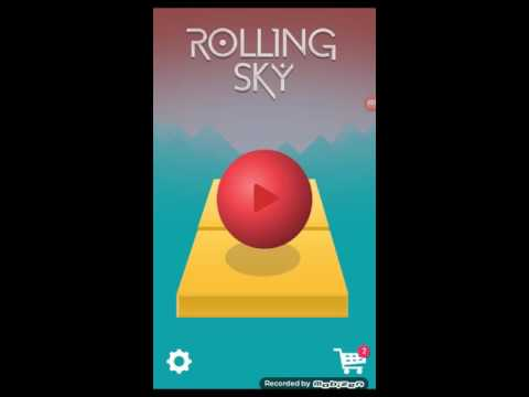 First Time to Play ROLLING SKY!! - YouTube Rolling Sky