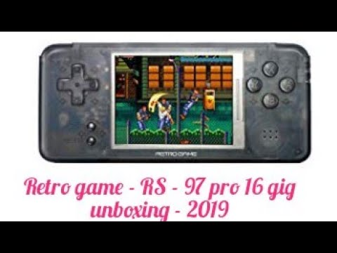 Retro Game Rs 97 Pro Quick Unboxing September 2019